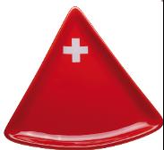 Swiss Fondue plate